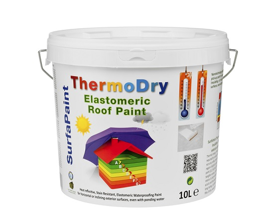SurfaPaint ThermoDry Elastomeric Roof